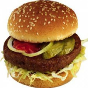 Broodje hamburger (halal)